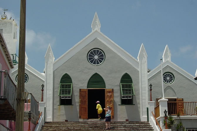 Saint Peter's Church, in St. George's, Bermuda